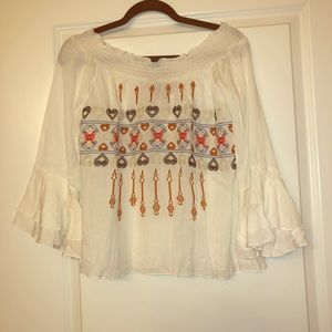 Tops - NWT Embroidered Top